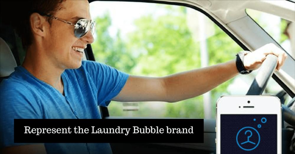Represent the Laundry Bubble brand