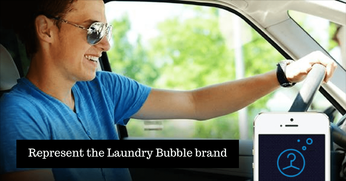 Represent the Laundry Bubble brand