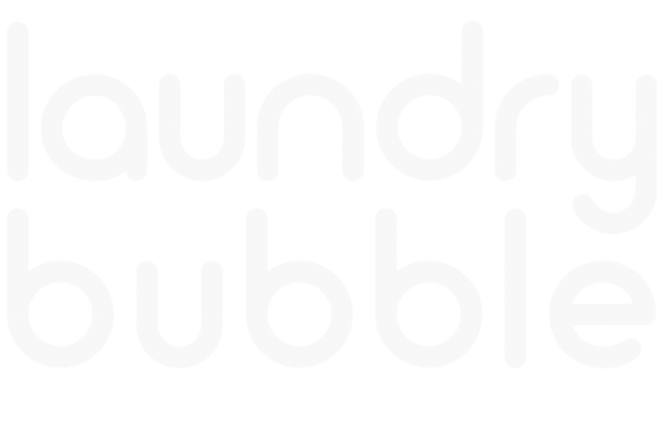 LAUNDRY BUBBLE SERVICE LOGO